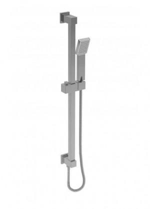 "Baril Pro DGL-2575-01-CC CARREPro Sliding Rail Shower Set 1-Spray Chrome 1/2"" Built-In Connector"