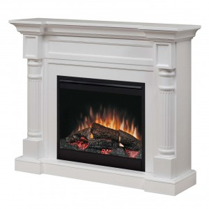 Dimplex DFP26-1109W Winston Electric Fireplace 120v/1440w