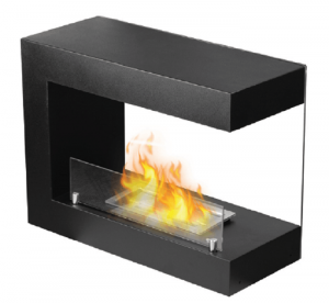 FP-029SFree Standing Ethanol Fireplacewith 1 x 1.3L Double-layer 304SS Burner and the extinguish tool