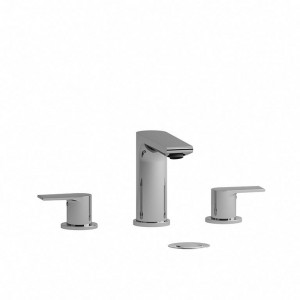 "Riobel FR08 Fresk Collection Double Hole 8"" Lavatory Faucet Chrome"