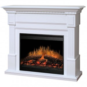 Dimplex GDS30-1086W Essex Electric Fireplace 120v/1500w