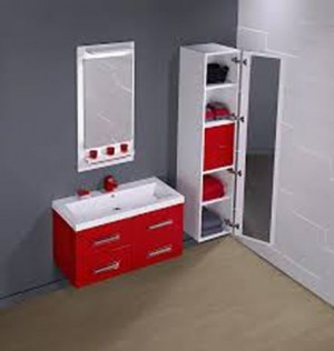 "Vanitec Bathroom Vanity & Sink Hollywood Collection (40"")"