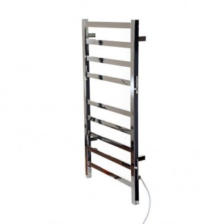 Ico K6023W Towel Warmer Kontour Collection Chrome