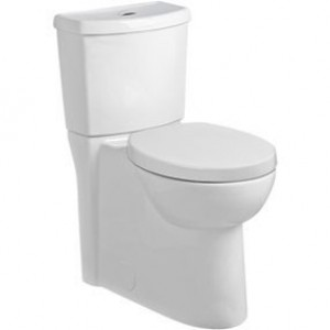 Amercian Standard 2794204020 Studio White Dual Flush 6l/4.1l Round Two Piece Toilet With Seat And Concealed Trapway