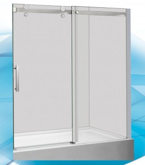 Bathtub Door ITD60CC 60""