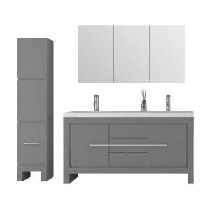 "Jade 3521-60-01 Bathroom Vanity Sloan Collection (60"")"