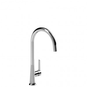 Riobel Pro JZ101C Single Lever Kitchen Faucet Chrome With Dual Spray