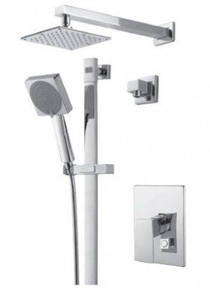 Royal Kit Evolution 2 Shower Faucet Chrome