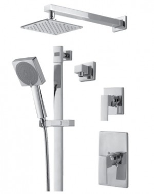 Royal Kit Evolution 3 Shower Faucet Chrome