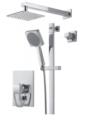 Royal Kit Linar 2 Shower Faucet Chrome