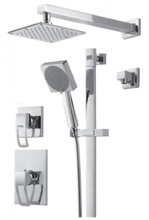 Royal Kit Linar 3 Shower Faucet Chrome