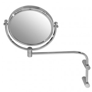 Laloo 2811 C Magnification Mirror Single Arm Extension Wallmount