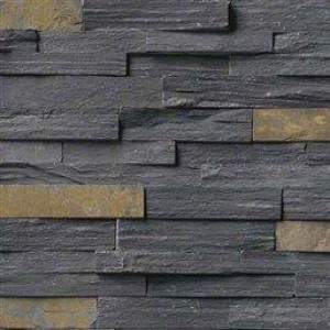 "Ledger Panel Charcoal Rush 6"" x 24"" (LPNLSCHARUS624)"