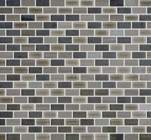 Interlocking Porcelain/Stone,Mesh-mounted Mosaic Wall TileMalibu 12X12X1 (MALIBU C3)