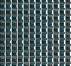 Glass Mosaic,Mesh-mounted  Wall TileEdna  (EDNA355B)