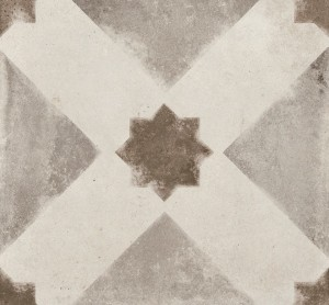"""Porcelain Tiles, Vintage Decor Stella (8""""x8"""")"""