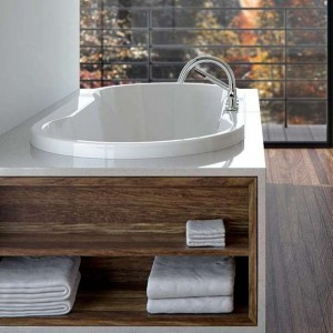Neptune Drop-In Acrylic Bathtub Berlin Collection 60""