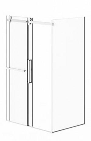 """Neptune Shower Door Exalt Chrome (78-3/4""""x32""""x48"""")"""