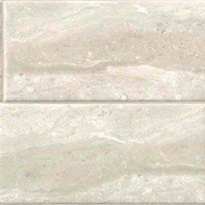 Interlocking Ceramic,Glossy Grey Travertine (NGRITRAGLO4X16)