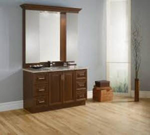 "Vanitec Bathroom Vanity & Sink Novella Collection (54"")"