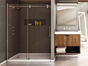Tomlin - MATRIX NXT-NTXA Shower Door 48""