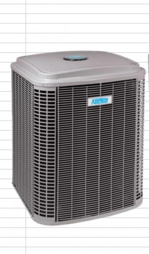 Keeprite Thermopompe Exterieur (ICPN4H430GKG 2.5 ton)