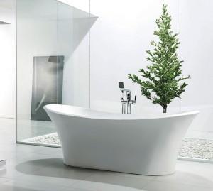 """Jade Freestanding Acrylic Bathtub Penelope Collection 70"""""""