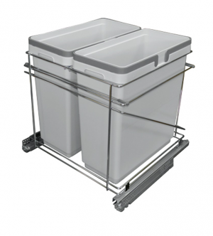 Rocheleau POU-SV21-233-G Vibo Collection Pull-Out Waste Bin