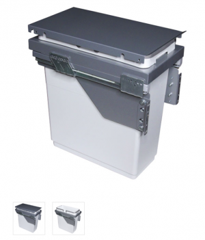 Rocheleau POU-V30-G Vibo Collection Pull-Out Waste Bin