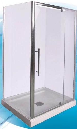 """Acrylic Shower Door Renaissance (42""""x34"""")"""