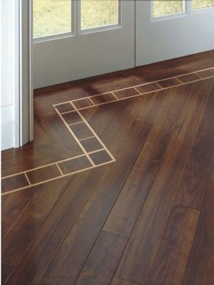 "Karndean Floating Vinyl Flooring Glue-Down System Da Vinci Collection Australian Walnut KARNDEAN-RP41 (3""x36""x3mm)"