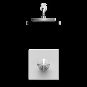 Rubinet 202LALSNBJ Shower System Main Finish Choice