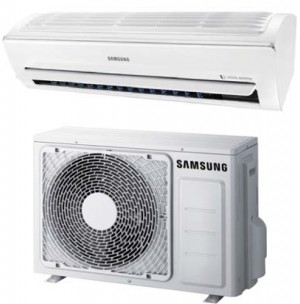 Samsung Ductless Mini Split Heat Pump 12 000 Btu Seer 22 Smart Whisper Series (AR12KSWSJWKXCV-AR12KSWSJWKNCV)