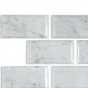 Interlocking Ceramic,Greecian White 2X4 Bevelled Polished(SMOT-GRE-2X4PB)