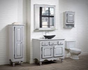 "Vanitec Bathroom Vanity Antique Collection (36"")"