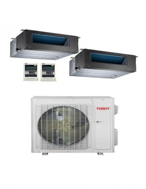 Tosot (TM18H4O/ (2)TM12HFDI ) 2 Zone Gainable 18000BTU Seer 22