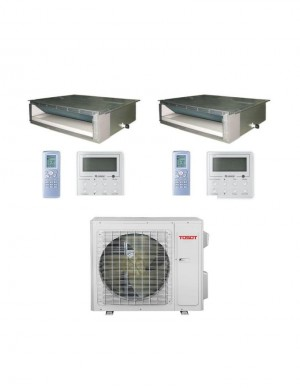 Tosot (TM18H4O/(2)TM09HFDI) 2 Zone Gainable 18000BTU Seer 22
