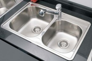 BOSCO - BOS-T207002-KIT - Kitchen Sink Top Mount Single Sink 18-gauge Stainless Steel