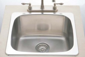 BOSCO - BOS-T207004-KIT  - KITCHEN SINK UNDERMOUNT SINGLE SINK 18 GAUGE STAINLESS STEEL