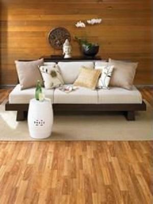 Tarkett Floating Vinyl Flooring 12' Wide (3.66m) Fresh Start™ Clearwater Oak Cinnamon