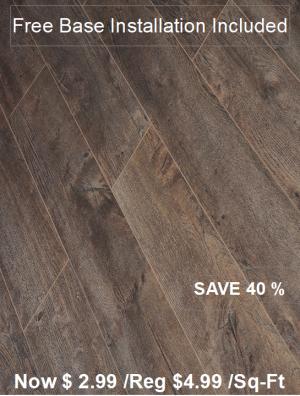 Laminate Floor TF-6004INST /Free Base Installation
