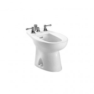Toto BT500B-01 Piedmont Bidet Only, Vertical Spray, Cotton White