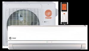 Trane Ductless Mini Split Heat Pump 9 000 Btu Seer 38 Low Temperature Series -30 (4TXK3809A10-4MXW3809A10)