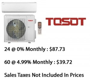 Tosot Single Zone Lomo 16 Heat Pump 12000 Btu Seer 16 With Base Installation*