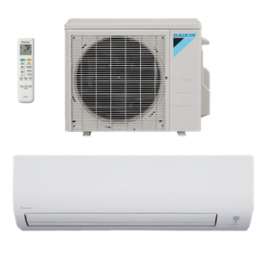 Daikin FTX12NMVJU / RX12NMVJU - Heat Pump 12000 BTU 19 SEER Single Zone System