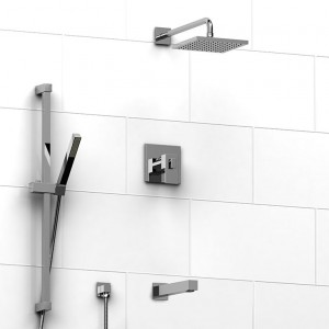 Riobel Pro US595 Kit Shower Faucet Chrome