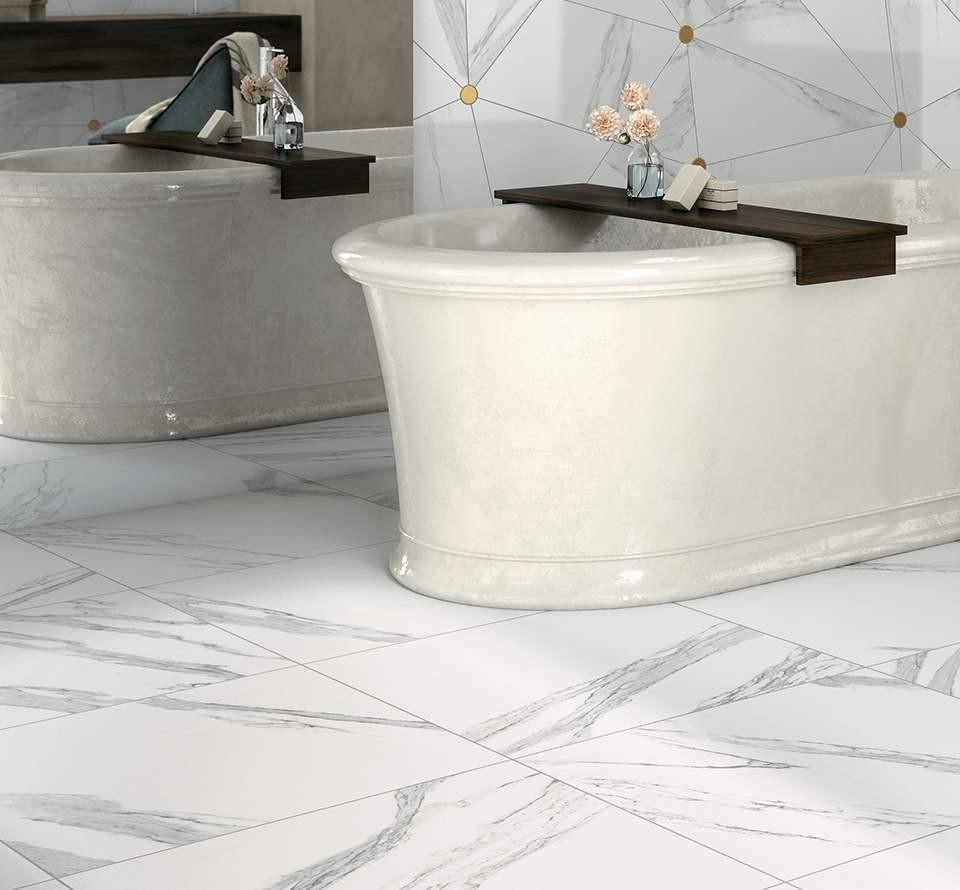 Casa Reno Direct Porcelain Tiles, Jewels Calacatta polished (24\